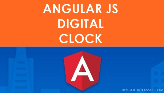 Angular JS Digital Clock