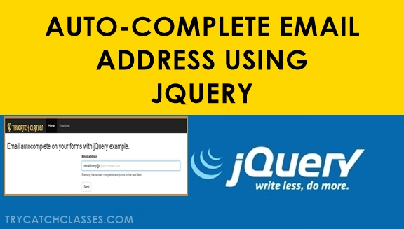 Auto-Complete Email Address Form Using Jquery Plugin