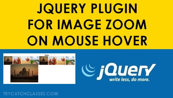 Jquery Plugin For Image Zoom On Mouse Hover