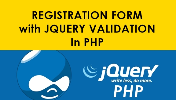 Complete Registration Form With Jquery Validation In PHP