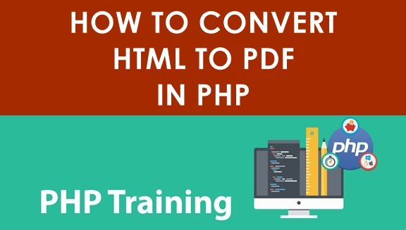 How To Convert HTML TO PDF in PHP Tutorial