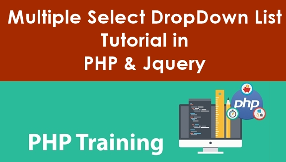 Multiple Select DropDown List Tutorial in PHP and Jquery