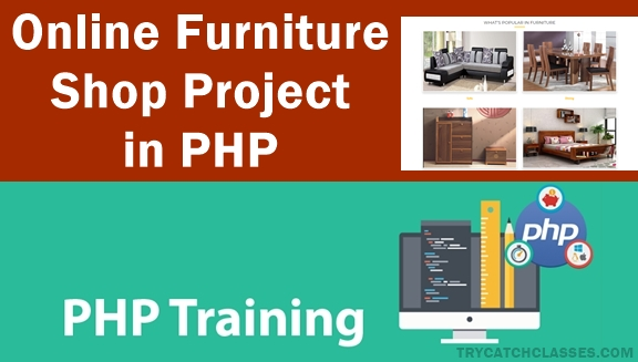 Online Furniture Shopping Project in PHP