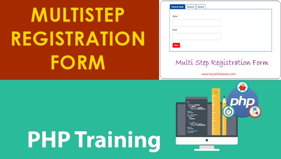 Multi Step Registration Form Using PHP and jQuery